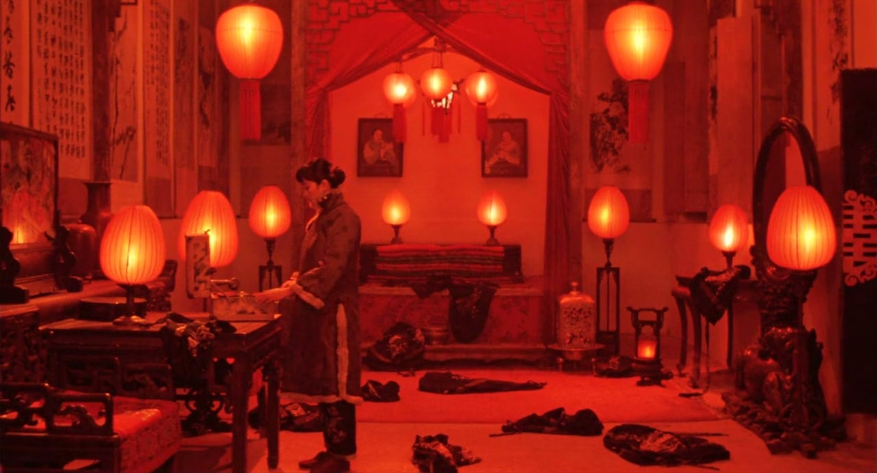 Still from Raise the Red Lantern. Photo: Orion Classics