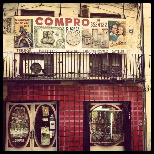 Shop in Valencia. Photo: Holly Smith