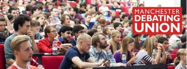 Photo: Manchester Debating Union – MDU @Facebook