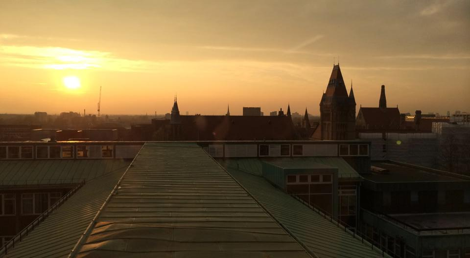 University of Manchester skyline. Photo: The Mancunion