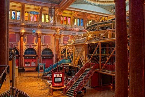 Royal Exchange Theatre. Photo: Gidzy @Wikimedia Commons.
