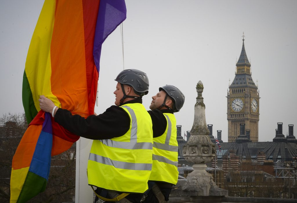 The UK Parliament legalised same-sex marriage in early 2014. Photo: Cabinet Office @Flickr