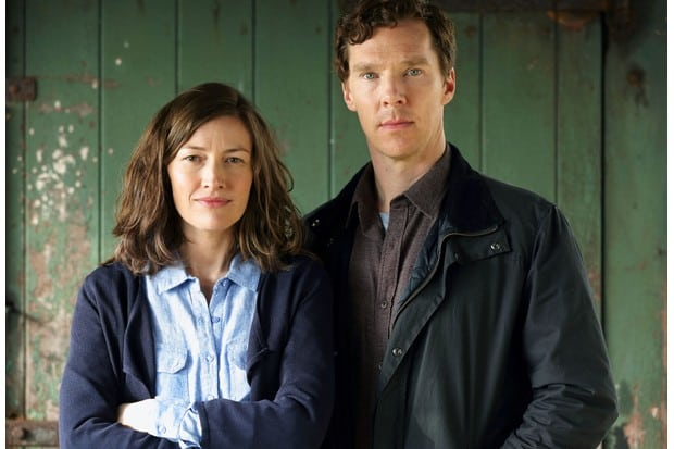 Kelly MacDonald & Benedict Cumberbatch in The Child in Time. Photo: Pinewood Television/Sunny March - Photographer: Charlie Best