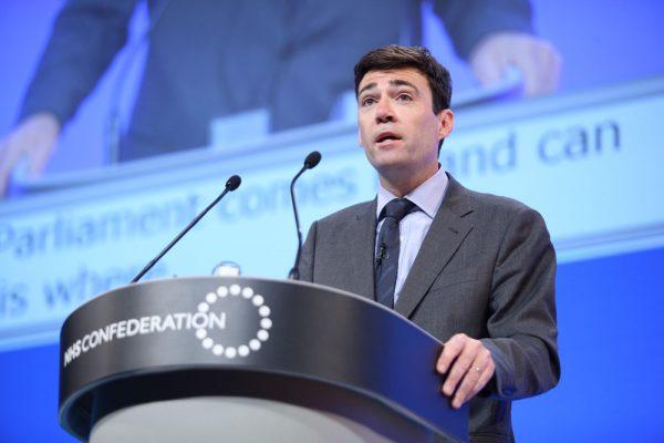 Andy Burnham. Photo: NHS Confederation @ Flickr
