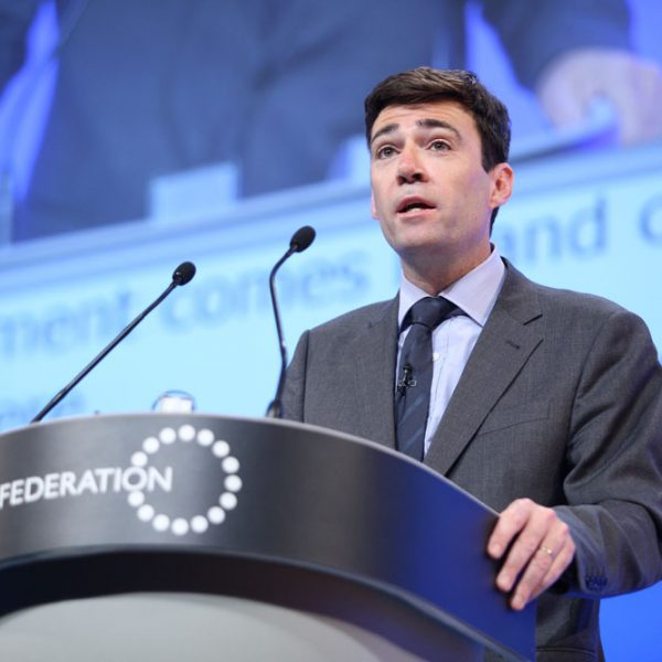 Andy Burnham. Photo: NHS Confederation @ Flickr