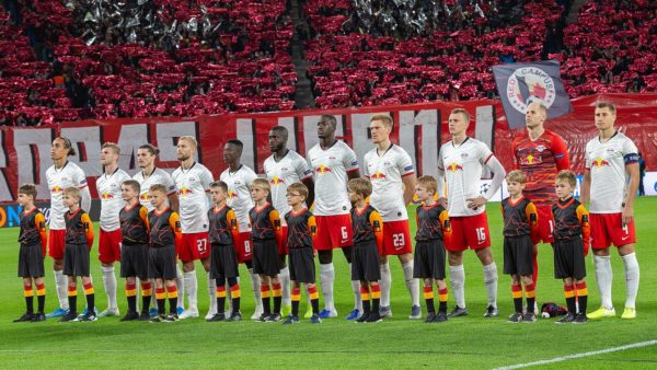 RB Leipzig team photo
