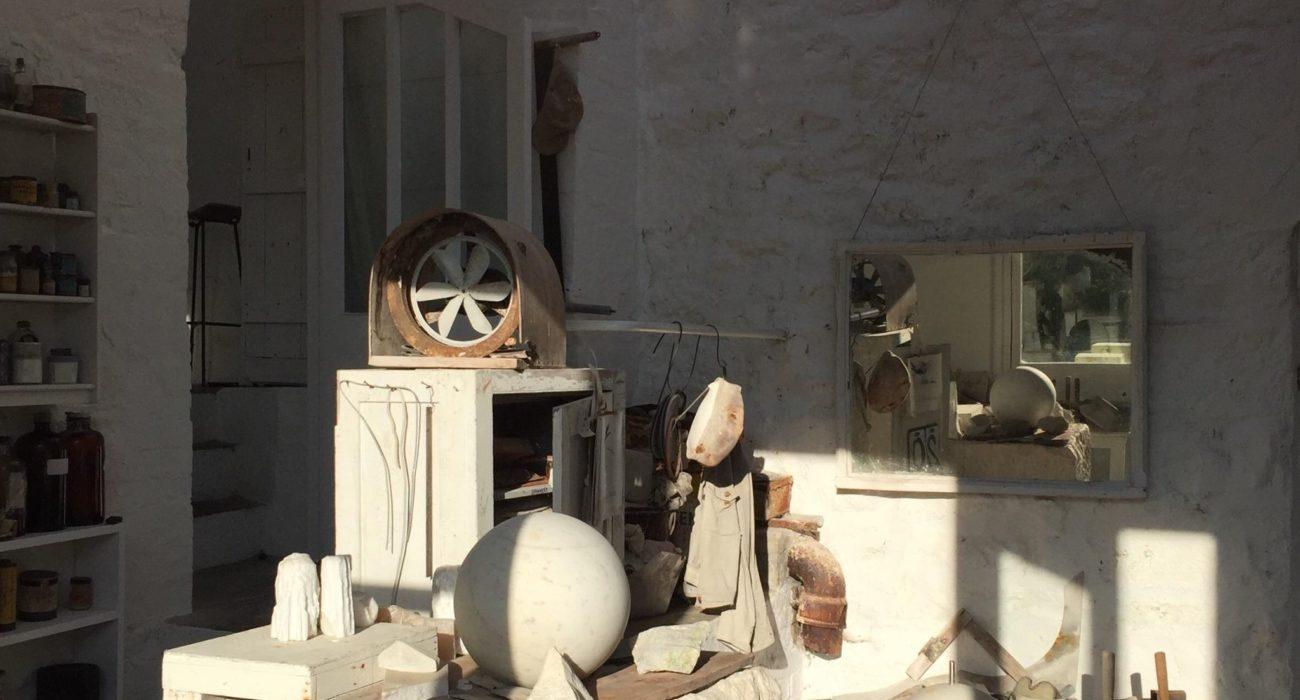 Barbara Hepworth's studio in St Ives