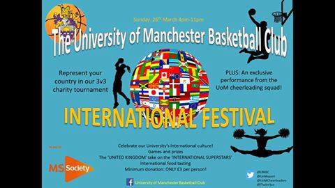 Photo: University of Manchester Basketball Club