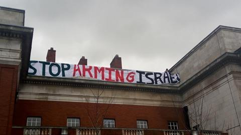 Photo: BDS Campaign University of Manchester