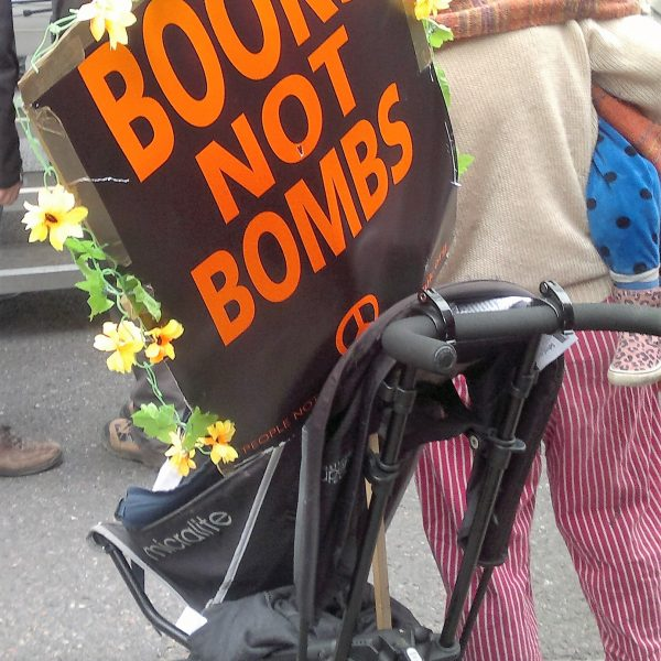 Students from Manchester joined protestors in London for an anti-Trident demonstration. Photo: The Mancunion