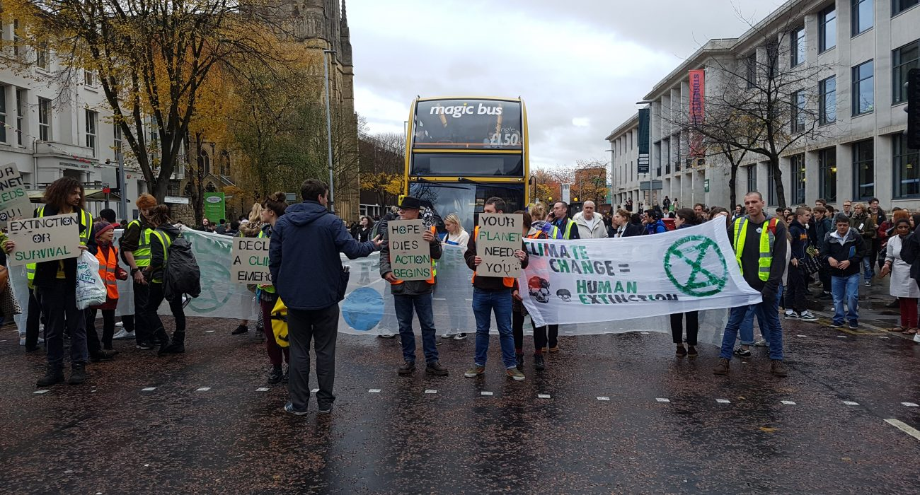 climate change Photo: The Mancunion.