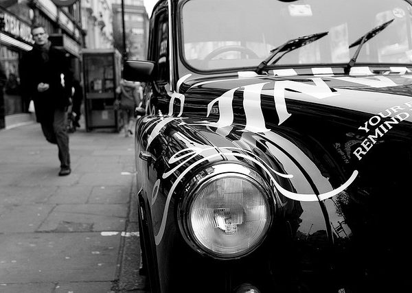 Is Uber the nail in the coffin for the classic Black Cab? Photo: Fabrizio lonzini @Flickr