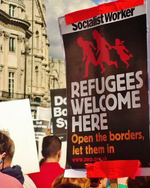 The refugee crisis has unveiled a cold and heartless side to Europe. Photo: Alex Donohue @ Flickr