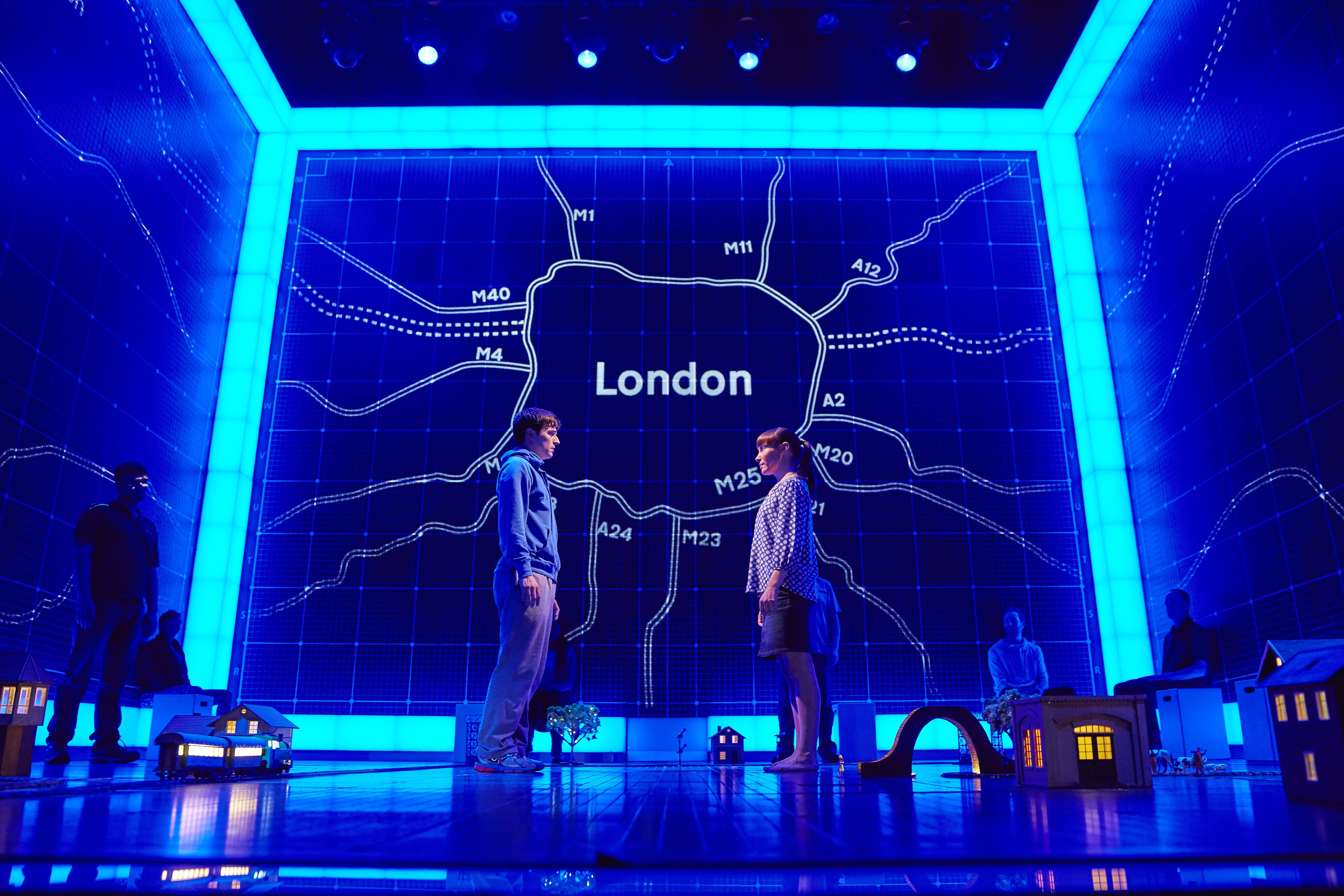 The Curious Incident of the Night Time UK Tour. Photo: Press Shot