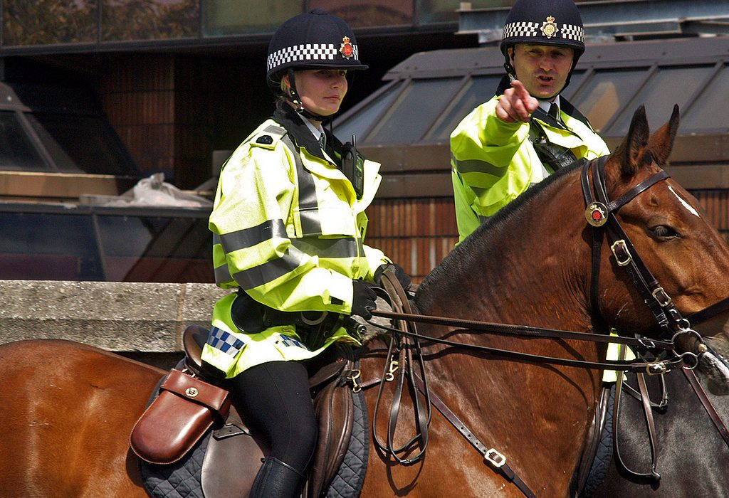 Mounted patrols stated to increase in student areas to intercept travelling criminals. Photo: Ingy the Wingy @Flickr