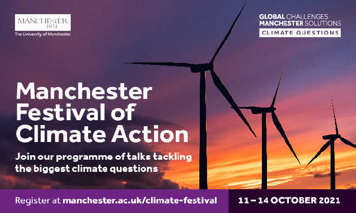 Image from UoM festival of climate action