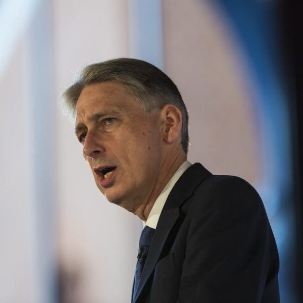 Philip Hammond. Photo: Chatham House @Flickr.