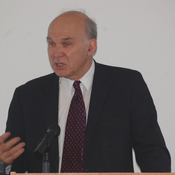 """Vince Cable has said we """"must break that psychological barrier"""" for female engineers."""