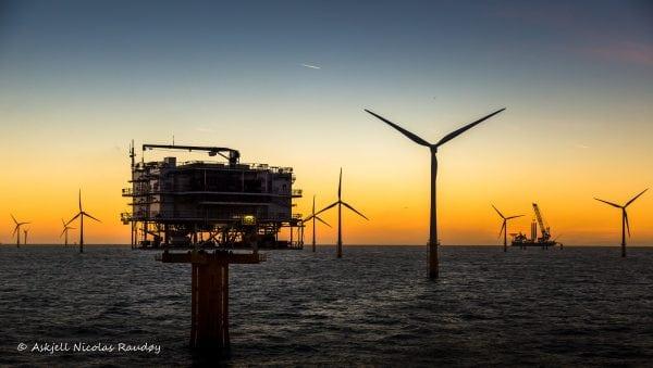 Photo: The Wind Farm by Askjell@Flickr