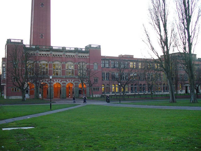 The University of Birmingham has taken strong action against protestors.