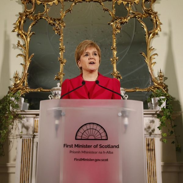 Photo: First Minister Press Conference @Flickr