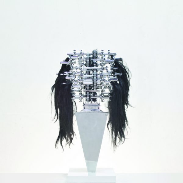 Machine with Hair Caught in It (detail) by U_Joo+LimheeYoung, Photo: Courtesy of The Lowry