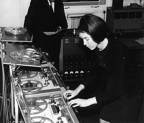 Delia Derbyshire. Photo: Ethan Hein@Flickr