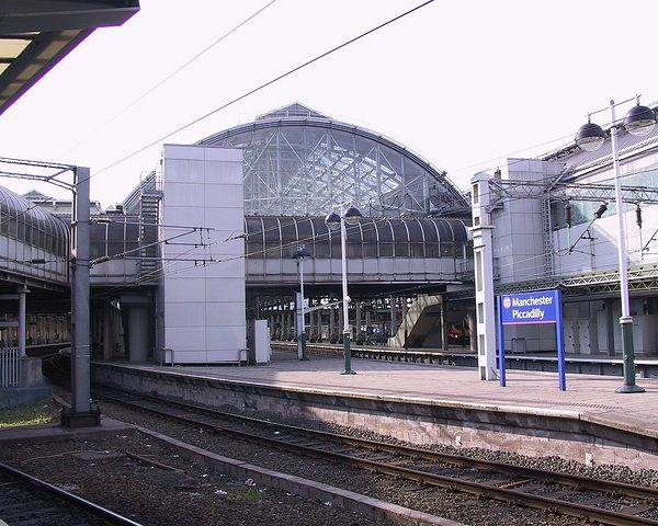 All four attacks took place close to Manchester Piccadilly station.