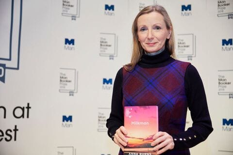 Photo: Man Booker Prize, Milkman author Anna Burns at Southbank Readings