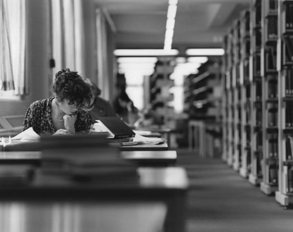 Library Student. Photo: LSE Library @Flickr.