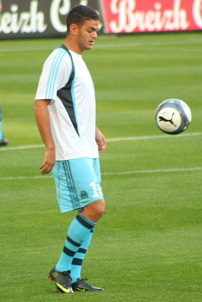 Hatem Ben Arfa. Photo: Wikimedia Commons
