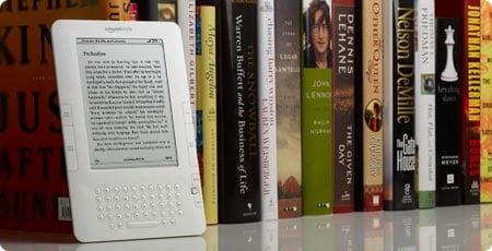 Book vs Kindle. Photo: goXunuReviews @Flickr