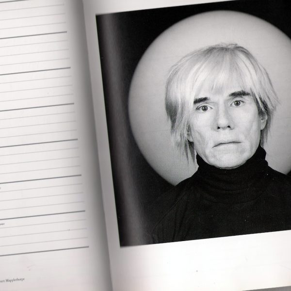 Andy Warhol, 1987. Photo: Gisela Giardino @Flickr