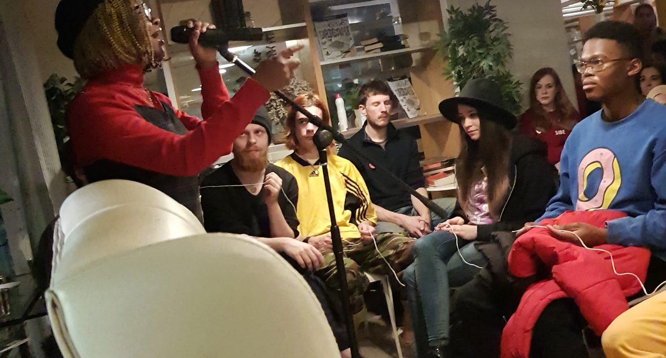 open mic night Photo: Creative Writing Society