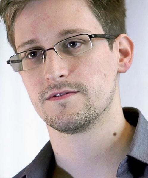 Snowden could hold the position from Russia.