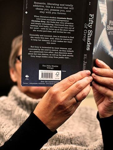The cost of literary success? A £7.99 edition of 50 Shades of Grey'. Photo: Andreas Harding @Flickr