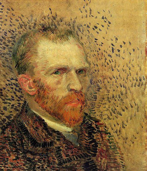 Van Gogh: Self Portrait. Photo: freeparking @Flickr