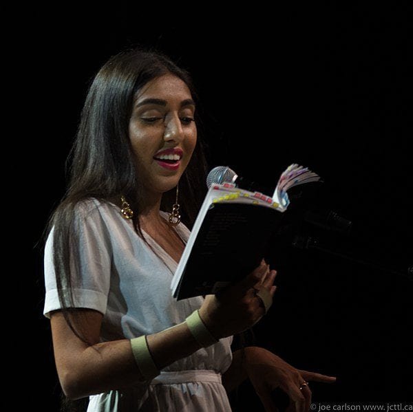 Photo: Rupi Kaur by Joe Carlson @ Wikimedia Commons