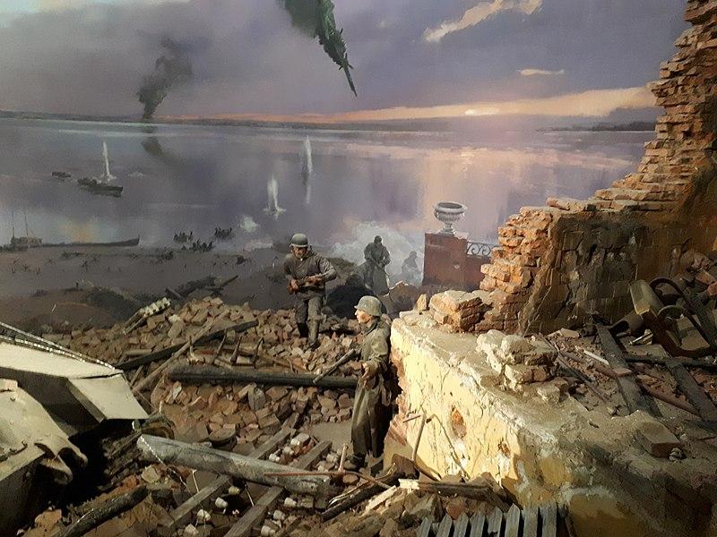 image of a battleground portraying war scenario