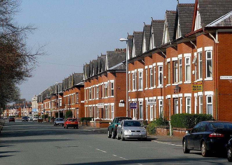 Platt Lane, Rusholme (Image: Rusholmeruffian @ Commons Wikimedia)