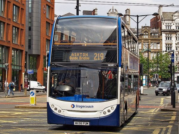 Transport in Manchester Photo: David Ingham @ Wikimedia Commons