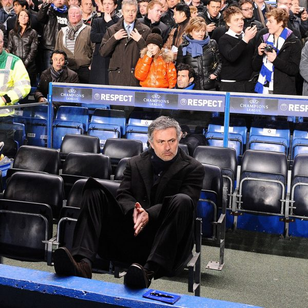 All on his own? Photo: JoseMourinho1900306 @Flickr