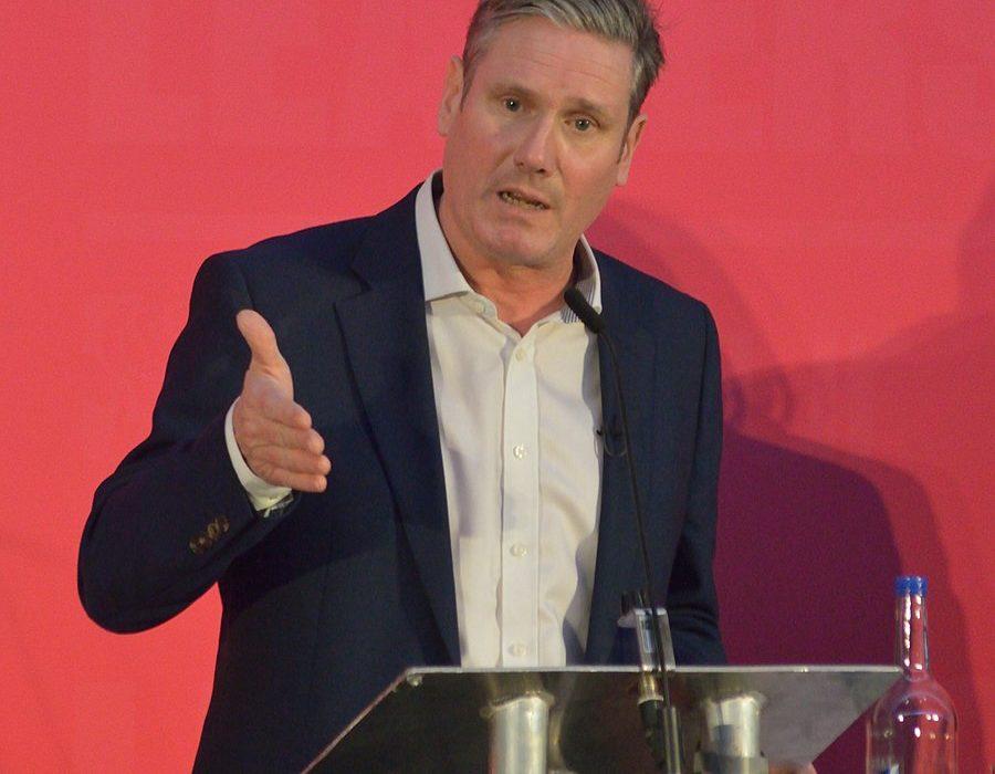 Keir Starmer at Labour party leadership hustings, Bristol, 2020