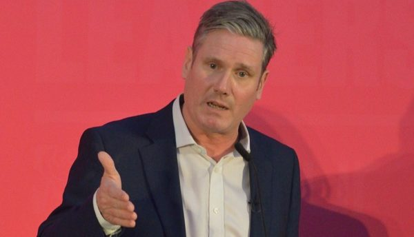 Keir Starmer at Labour party leadership hustings, Bristol, 2020