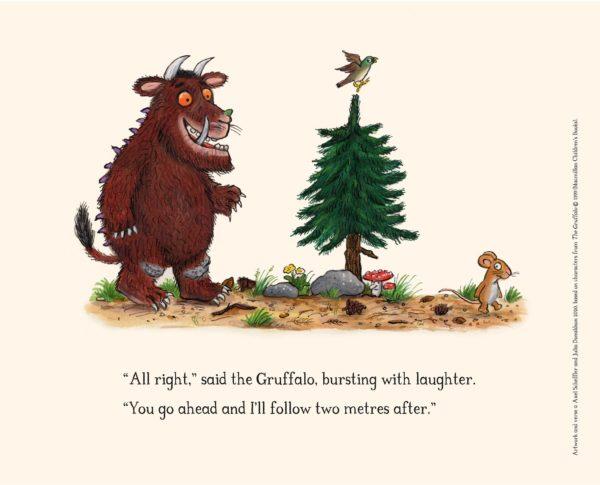 Image based upon children's book The Gruffalo