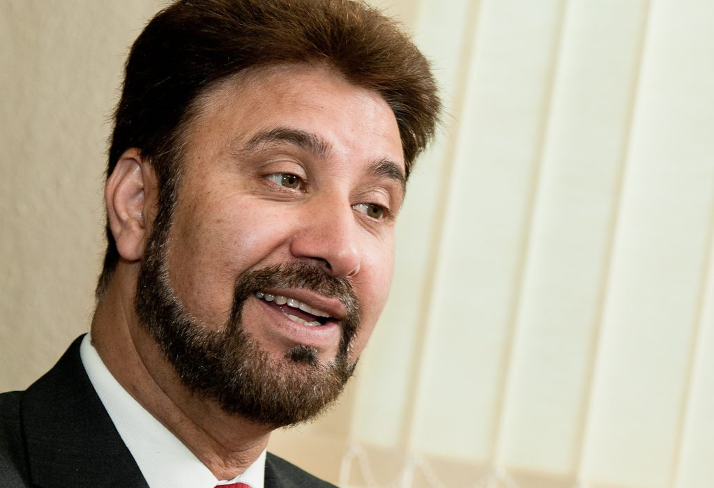 Afzal Khan, currently an MEP, will stand for Labour at the Gorton by-election [Photo: Wikimedia Commons]