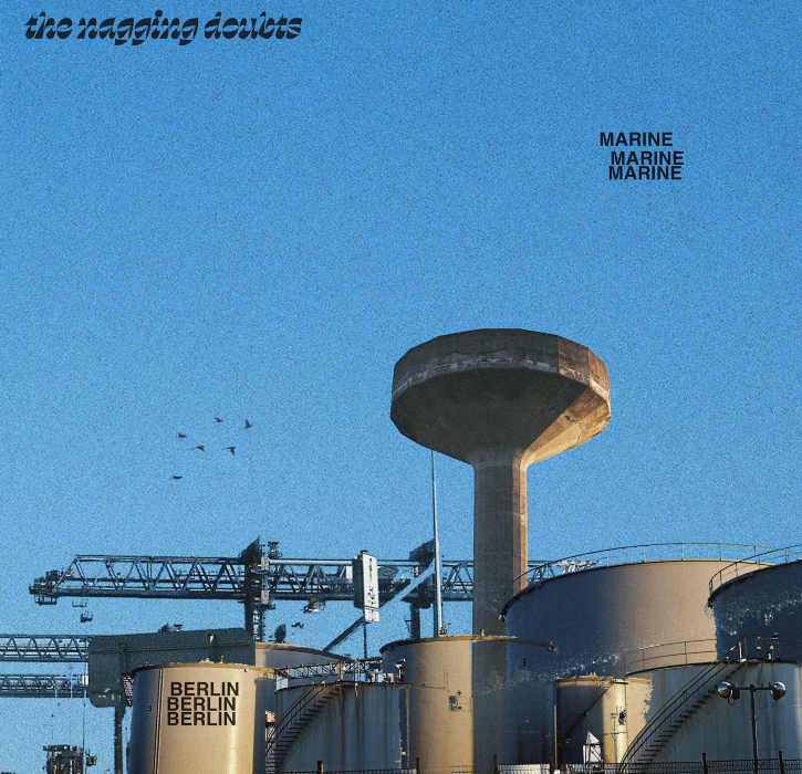EP artwork portrays a power station before a blue sky backdrop