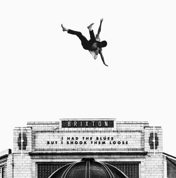 A silhouette figure falls onto the domed roof of 02 Brixton
