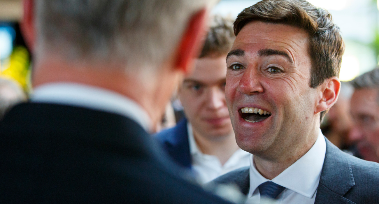 Andy Burnham. Image credit: Financial Times @ Flickr