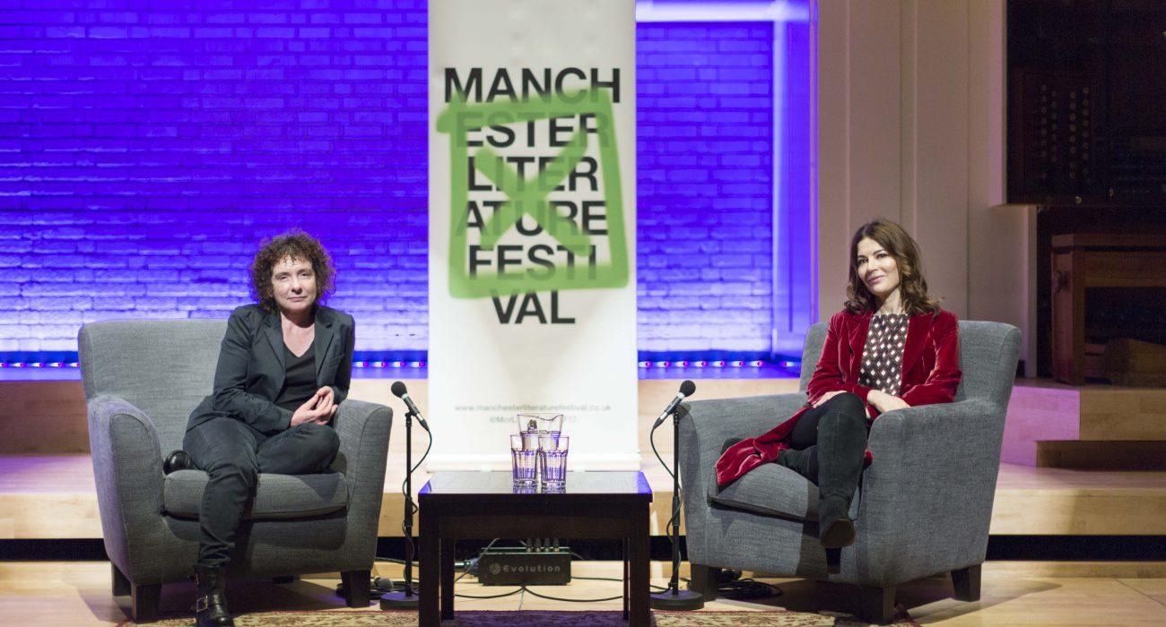 Photo: Chris Bull, Manchester Literature Festival